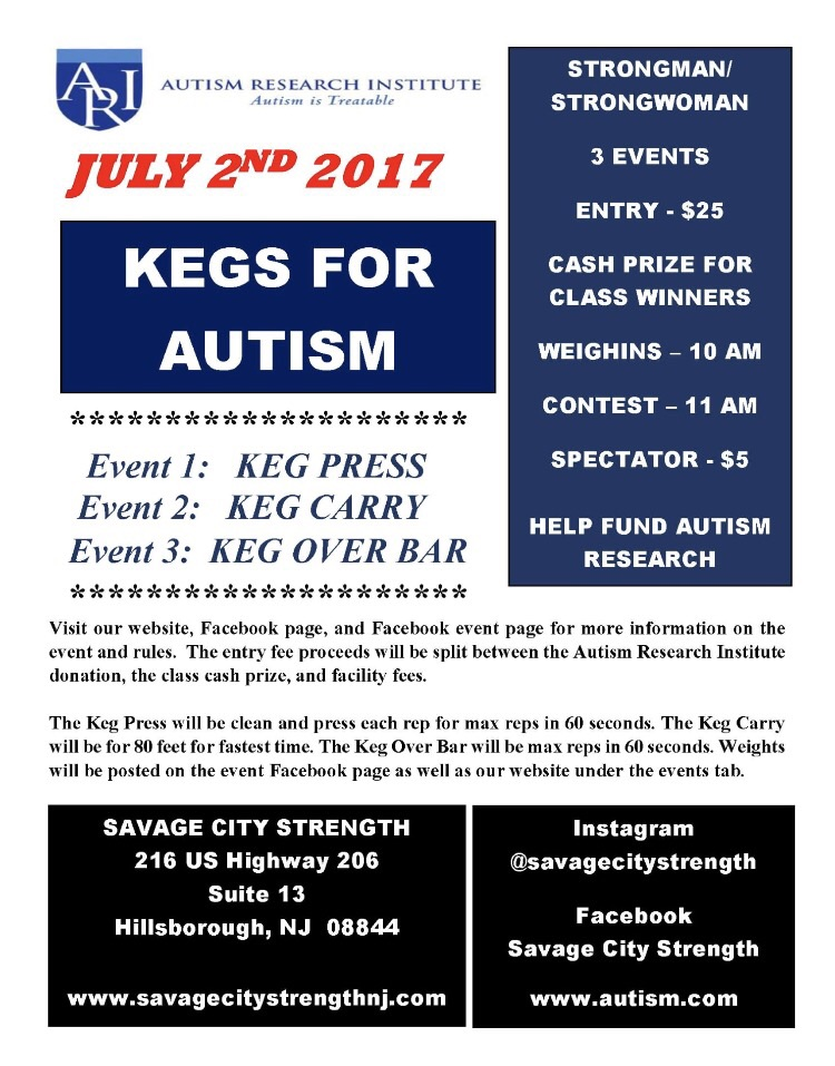 Kegs For Autism Fundraiser